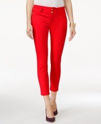 Thalia Sodi Double Button Ankle Pants Only At Macy's