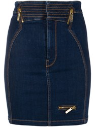 Versace Jeans Couture Fitted Denim Skirt 60