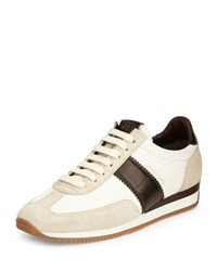 Tom Ford Orford Colorblock Trainer Sneaker Brown