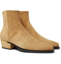Givenchy Dallas Suede Boots Beige