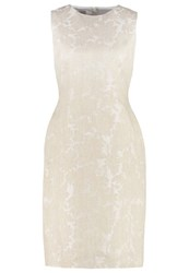Hobbs Faye Shift Dress Natural Ivory Off White