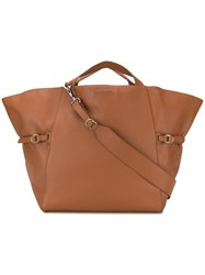 Orciani Lotus Tote Brown
