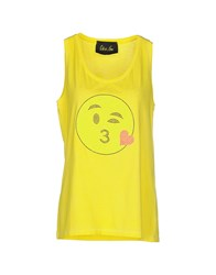 Odi Et Amo Topwear T Shirts Women Yellow