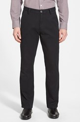 Men's Cutter And Buck 'Beckett' Straight Leg Washed Cotton Pants Black