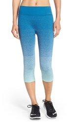 Women's Brooks 'Streaker' Capri Leggings Surf River