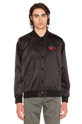 Obey Cherries Graphic Jacket Black