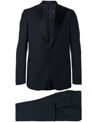Caruso Two Piece Dinner Suit Blue