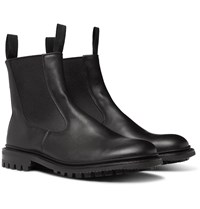 Tricker's Stephen Leather Chelsea Boots Black