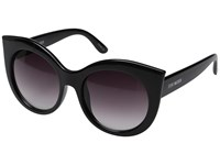 Steve Madden Mallory Black Fashion Sunglasses
