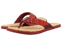 Ugg Braven Diego Burgundy Men's Sandals