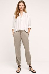 Anthropologie Hadden Joggers Taupe