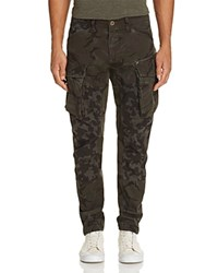 G Star Camo Print Slim Fit Cargo Pants Camouflage