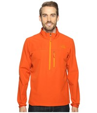 The North Face Apex Nimble Pullover Tibetan Orange Tibetan Orange Men's Clothing