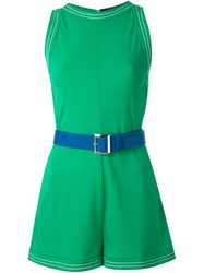 Dsquared2 Belted Playsuit Green