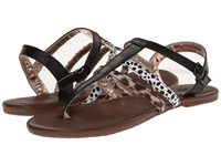 Vans Kihana Black Leopard Women's Sandals Multi
