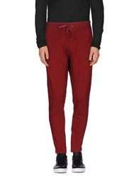 Paolo Pecora Trousers Casual Trousers Men Maroon