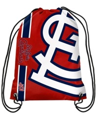 Forever Collectibles St. Louis Cardinals Big Logo Drawstring Bag Red