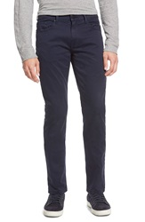 Paige 'Federal' Slim Fit Twill Pants Navy Cadet