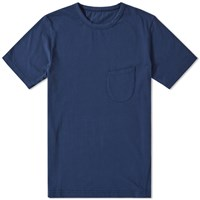 Universal Works Jersey Pocket Tee Blue