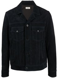 Zadig And Voltaire Lawrence Multi Pocket Blouson 60