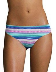 Honeydew Intimates Patterned Seamless Thong Country Club