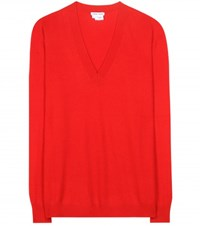 Tomas Maier Cashmere Sweater Red