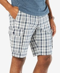 Dockers Stretch Classic Fit 10.5 Washed Cargo Shorts D4 Pate A Montecito Blue