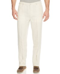 Tommy Bahama Men's New Linen On The Beach Pants Natural Linen