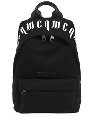 Mcq By Alexander Mcqueen Swallow Cotton Canvas Backpack