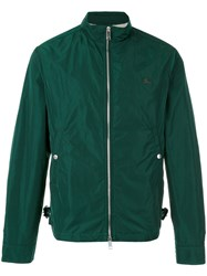 Burberry Zipped Bomber Jacket Green