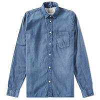 Nudie Jeans Henry Denim Shirt Blue