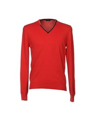 Gran Sasso Sweaters Red