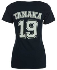 5Th And Ocean Women's Masahiro Tanaka New York Yankees Foil Player T Shirt Navy