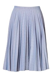 J.W.Anderson Cotton Gingham Midi Skirt