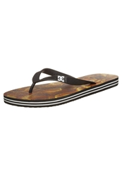 Dc Shoes Spray Graffik Flip Flops Multi Yellow