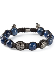 Shamballa Jewels Black Diamond Bracelet