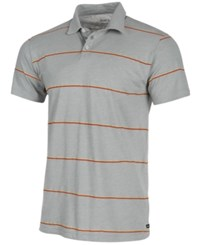 Rvca Sure Thing Stripe Polo Grey