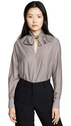 See By Chloe Ruffle Detail Blouse Multicolor