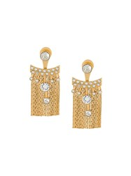 Ca And Lou 'Karen' Earrings Metallic