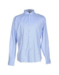 Dekker Shirts Shirts Men Sky Blue