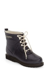 Ilse Jacobsen Women's Hornb K 'Rub' Boot Dark Indigo