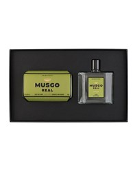 Musgo Real Gift Set Soap On A Rope And Cologne Classic Scent