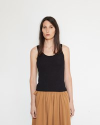 Christophe Lemaire Knit Tank Top Black