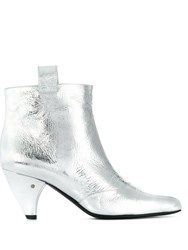 Laurence Dacade Terence Ankle Boots Silver