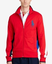 Polo Ralph Lauren Men's Interlock Track Jacket Polo Red