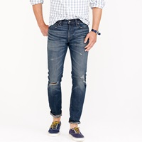 J.Crew 484 Jean In Gorham Wash