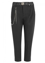 High Scudder Tapered Jersey Trousers Grey