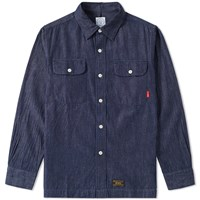 Wtaps Vatos Denim Shirt Blue