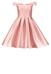 Chi Chi London Cadie Cocktail Dress Party Dress Rose Gold