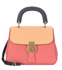 Burberry The Medium Dk88 Top Handle Leather Bag Pink